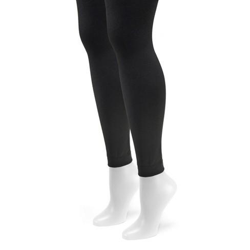 e398025b276aec Women's MUK LUKS Fleece Lined Footless Tights -... : Target