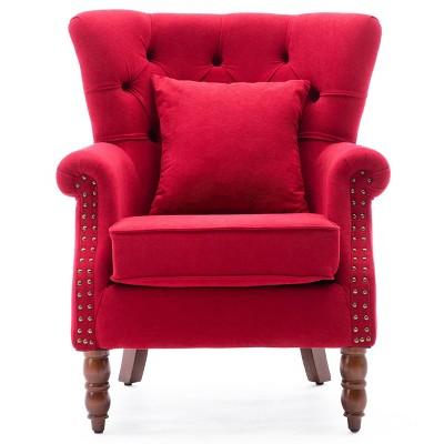 Upholstered Wingback Chair - Kinwell