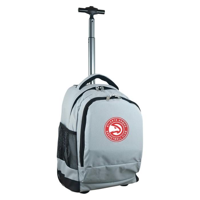 NBA® Mojo Premium Wheeled Backpack - Gray - image 1 of 6