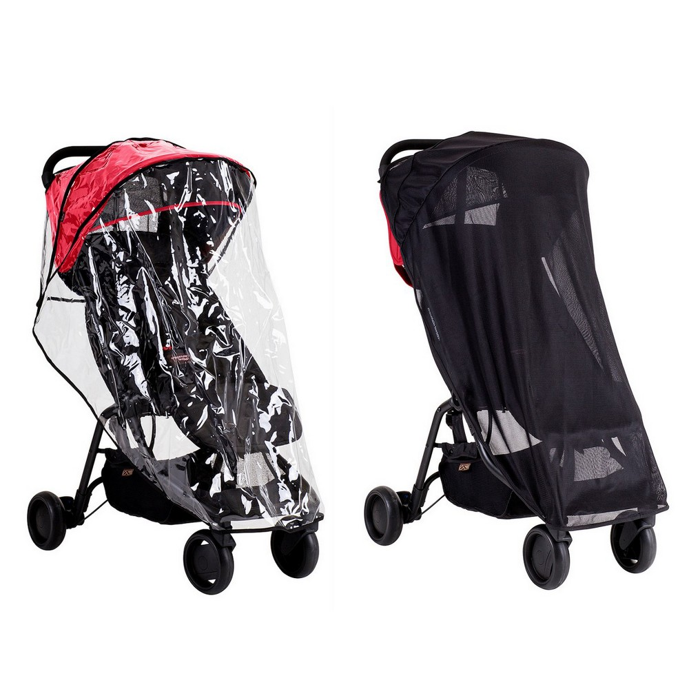 PHIL&TEDS Mountain Buggy Nano Weather Set, Multi-Colored