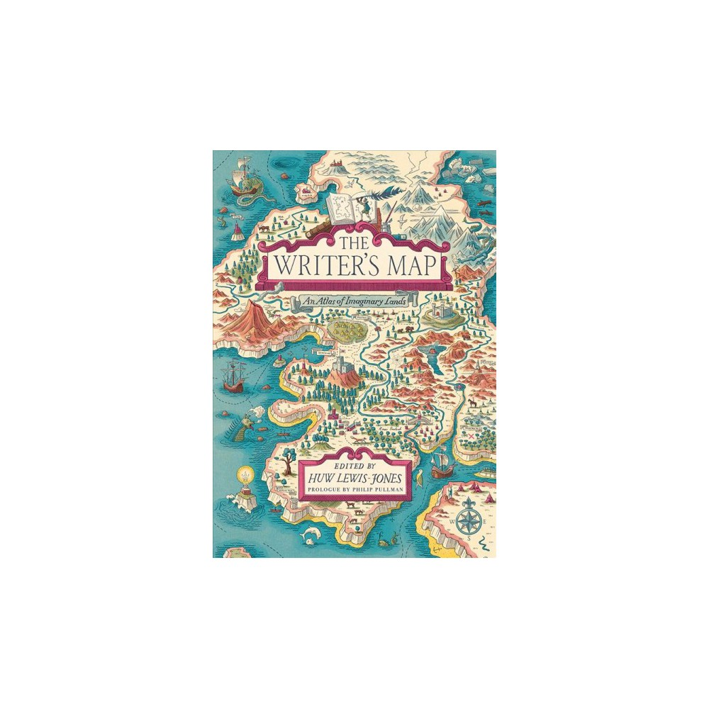 Writer's Map : An Atlas of Imaginary Lands - (Hardcover)
