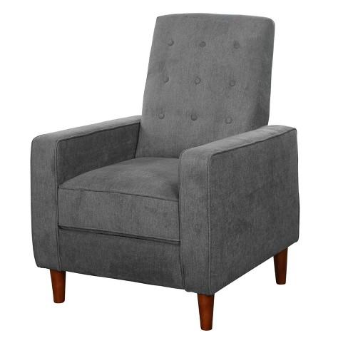 Swell Arya Recliner Gray Buylateral Machost Co Dining Chair Design Ideas Machostcouk