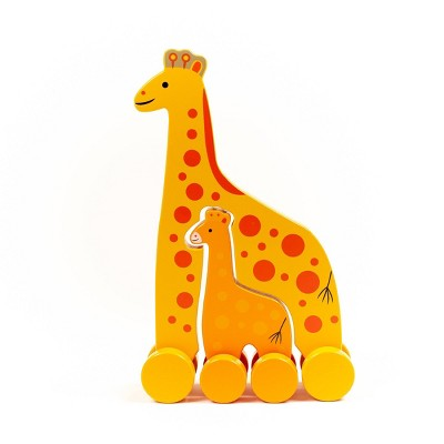 Big and Little Push Toddler Toy Giraffe