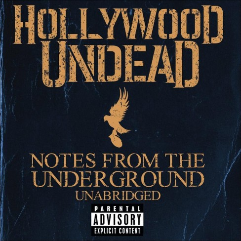 Hollywood undead - Notes from the underground [Explicit Lyrics] (CD) - image 1 of 1