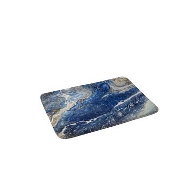 Shannon Clark From Above Memory Foam Bath Mat Blue - Deny Designs