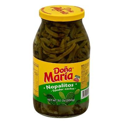Dona Maria Nopalitos Tender Cactus 30oz