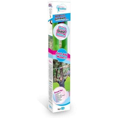 South Beach Bubbles WOWmazing Giant Bubbles Kit Plus | Wand + 5 Packets Bubble Concentrate + Booklet