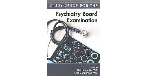 Psychiatry Board Examination (Study Guide) (Paperback) - image 1 of 1