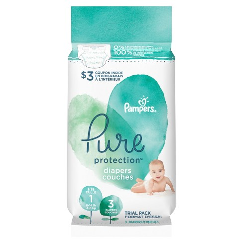 Pampers Pure Protection Diapers - image 1 of 5