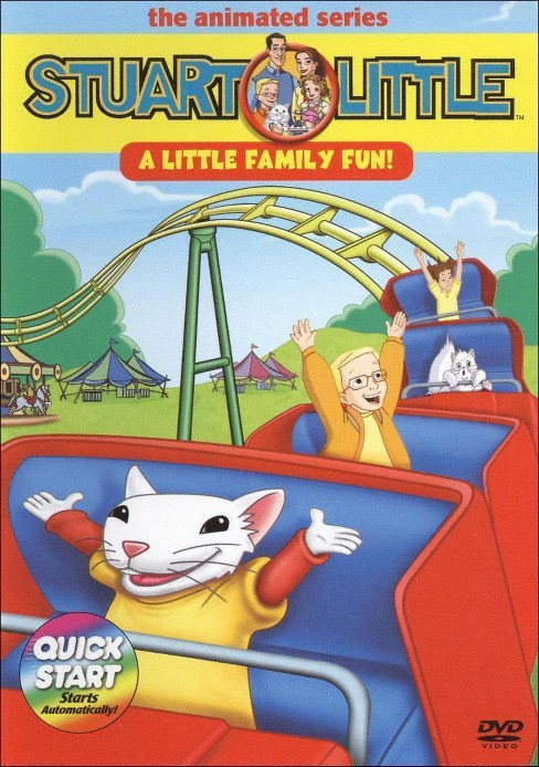 Stuart Little the Animated Series: A Little Family Fun (dvd_video) - image 1 of 1