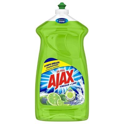 Ajax Ultra Triple Action Vinegar + Lime Liquid Dish Soap