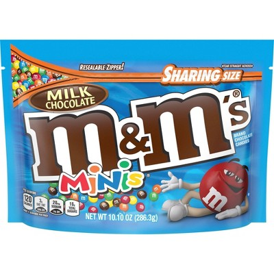 Chocolate Candies: M&M's Milk Chocolate Minis