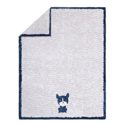 The Peanutshell Pug Life Blanket