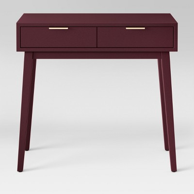 Hafley Two Drawer Console Table Berry - Project 62™