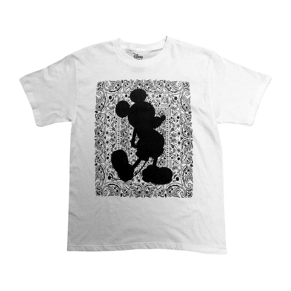 Boys' Disney Mickey Mouse Graphic T-Shirt - White S