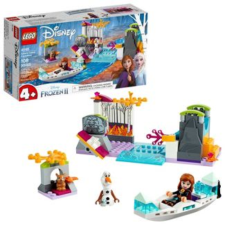 LEGO Disney Princess Frozen 2 Anna's Canoe Expedition 41165 Frozen Adventure Easy Building Kit 108pc
