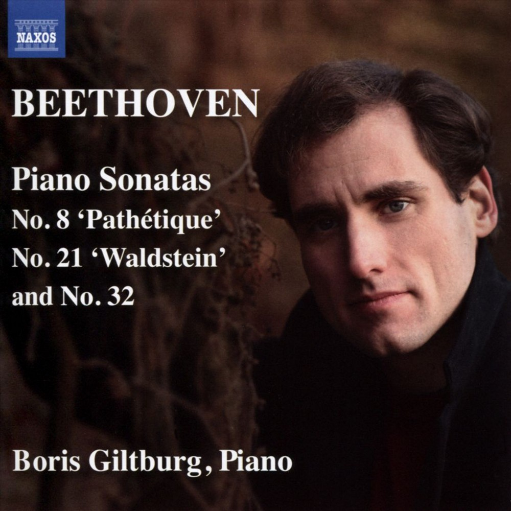 Boris Giltburg - Beethoven:Piano Sonatas Nos. 8 Pathet (CD)