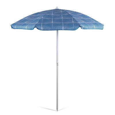 Oniva Portable Beach Stick Umbrella - Athens Blue