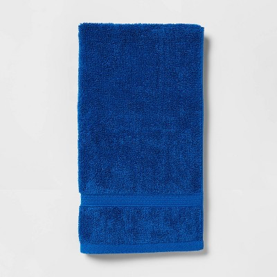 Soft Solid Hand Towel Bright Blue - Opalhouse™