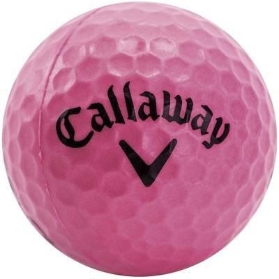 Callaway HX 9 Pack Practice Balls - Pink