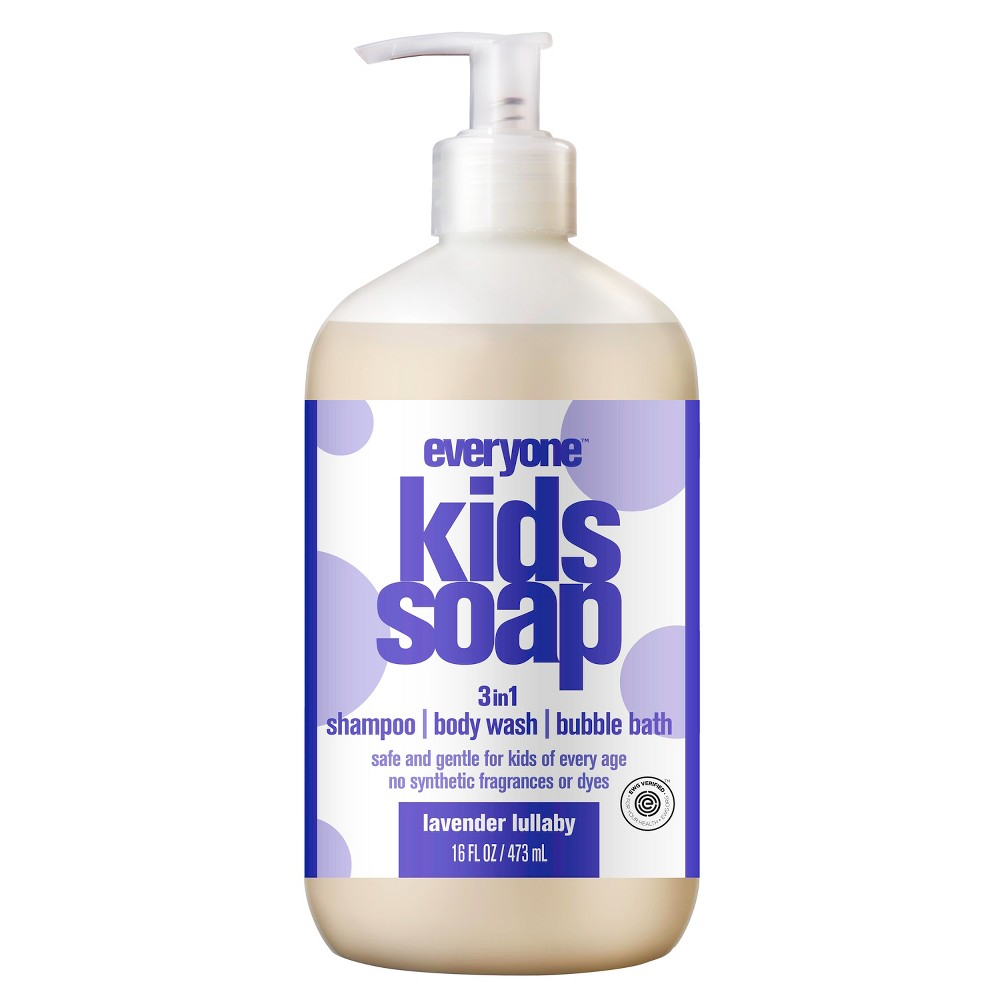 Image of Everyone Kids Lavender Lullaby Soap - 16.0 fl oz