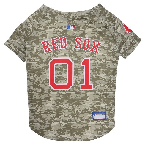 MLB Pets First Camo Pet Baseball Jersey - image 1 of 2