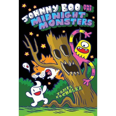 Johnny Boo and the Midnight Monsters (Johnny Boo Book 10) - by  James Kochalka (Hardcover)