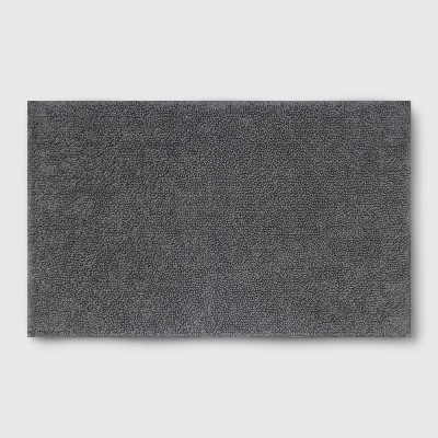Soft Solid Bath Mat Dark Gray - Opalhouse™