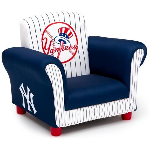 MLB New York Yankees Kid's Upholstered Chair - Delta Children - image 1 of 5