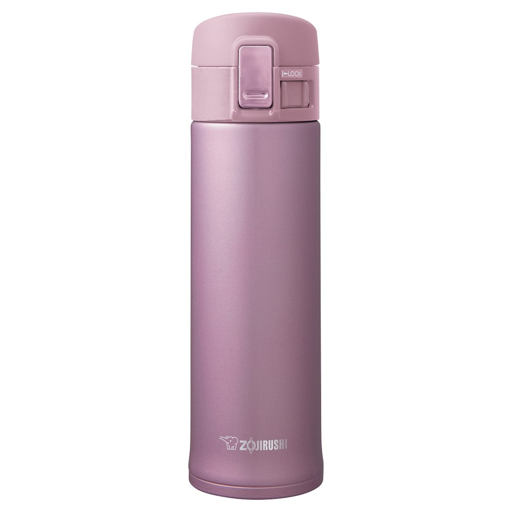 Zojirushi 16oz Stainless Steel Vacuum Insulated Mug with SlickSteel Interior - Lavender Pink