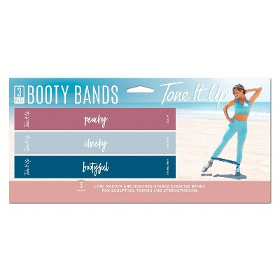Tone It Up Booty Resistance Band 3pk