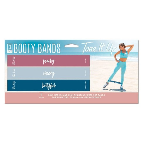 Tone It Up Booty Resistance Band 3pk - image 1 of 2