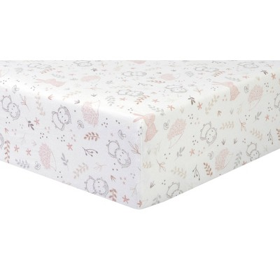 Trend Lab Woodland Friends Flannel Fitted Crib Sheet