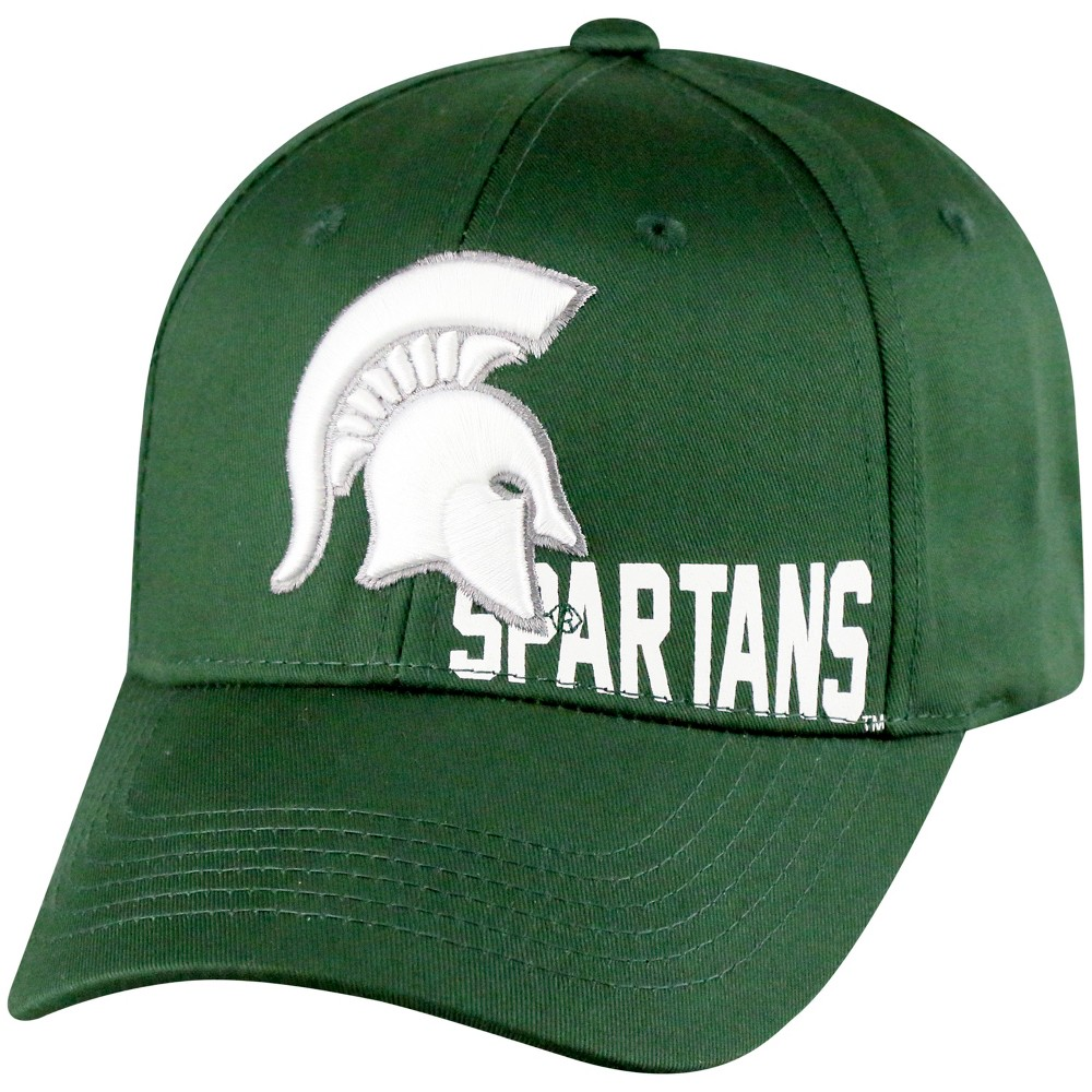 NCAA Michigan State Spartans Supporter Adjustable Baseball Hat, Men's