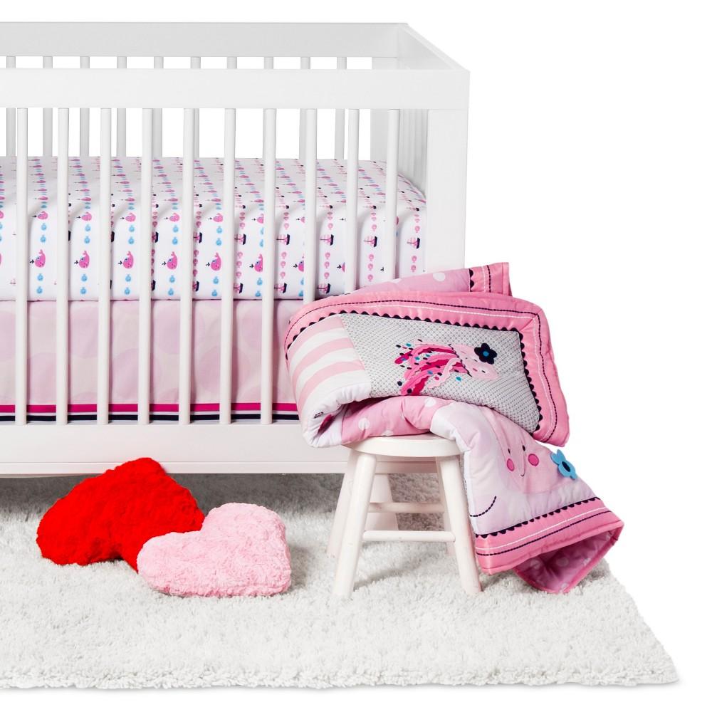 Image of Lambs & Ivy 4-Piece Crib Bedding Set - Splish Splash
