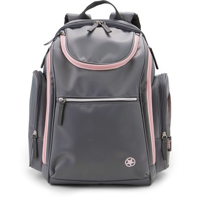 Jeep Backpack - Gray/Pink