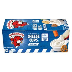 The Laughing Cow Creamy Swiss Cheese Cups - 4pk