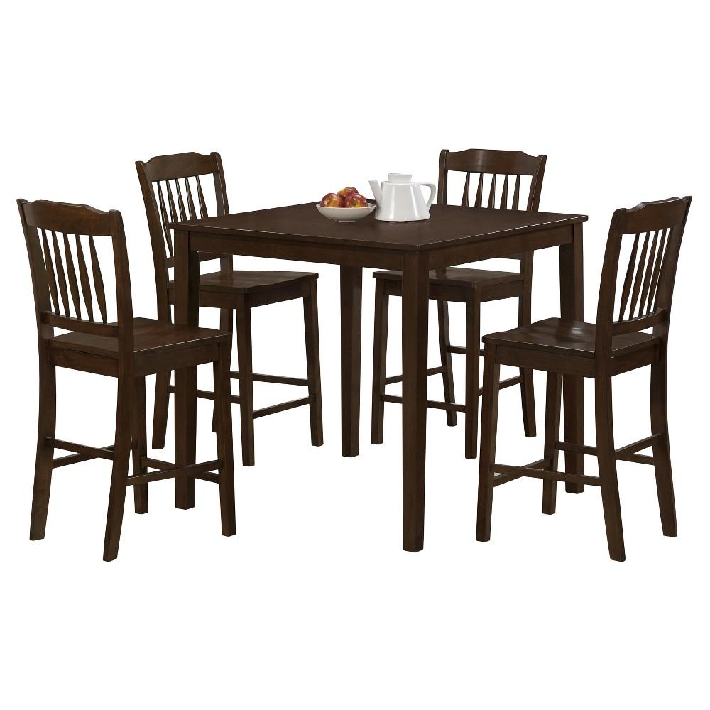 Dining Chair Set - Brown - EveryRoom