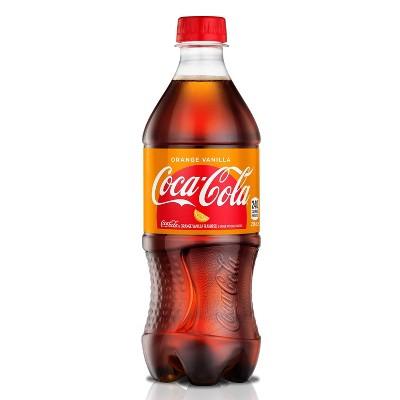 Coca-Cola Orange Vanilla Zero - 20 fl oz Bottle