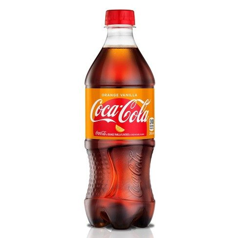 Coca-Cola Orange Vanilla Zero - 20 fl oz Bottle - image 1 of 3