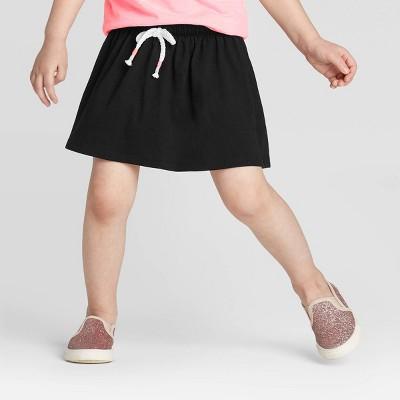 Toddler Girls' Knit Skorts - Cat & Jack™ Black