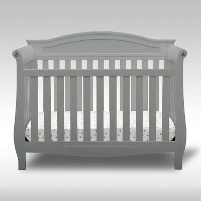 Delta Children Lancaster 4-in-1 Convertible Crib - Gray