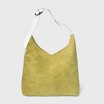 Soft Hobo Handbag - Universal Thread™ Olive Green