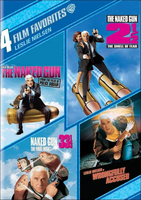 Leslie Nielsen: 4 Film Favorites [4 Discs] - image 1 of 1