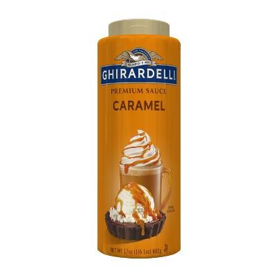 Ghirardelli Premium Caramel Sauce - 17oz