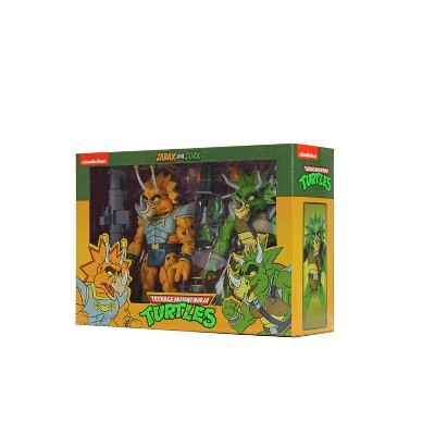 "Teenage Mutant Ninja Turtles (Cartoon) - 7"" Scale Action Figure - Captain Zarax and Zork 2 Pack"