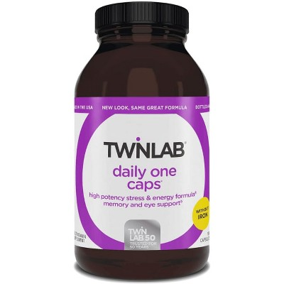 Twinlab Multivitamins Daily One Caps without Iron Capsule