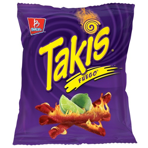 Barcel Takis Fuego Hot Chili Pepper & Lime Tortilla Chips - 4oz - image 1 of 3