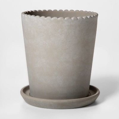 Terra Cotta Planter Gray Smith Hawken