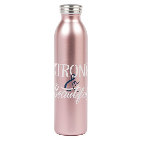 Strong & Beautiful Water Bottle 20oz - Pink - image 1 of 1